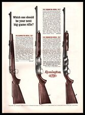 1963 REMINGTON Model 700, 742, 760 Rifle AD