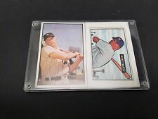 Mickey Mantle 1989 Bowman Replica/Reprint Lot of 2 cards NM/M