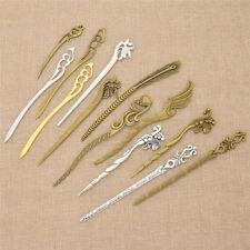 Ladies Elegant Metal Hair Stick Lovely Flower Fish Fox Pattern Hair Jewelry