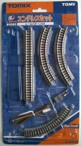 Tomix 91080 Super-Mini Rail Set Oval Layout Set (Track Layout SA) (N scale)