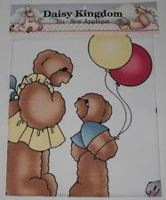 "Daisy Kingdom No Sew Applique F6315SP ""I'm the mama bear that's why!"""