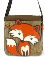 Chala Women Handbag Crossbody Laptop FOX BROWN New