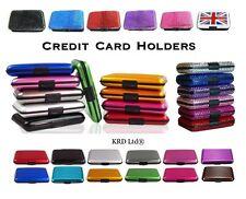 RFID Block Aluminium Credit Card Holder Business Security Case Wallet Travel B4