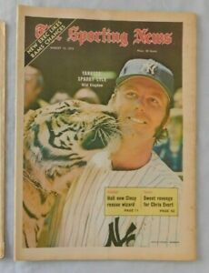 August 12 1972 Sporting News Sparky Lyle New York Yankees