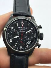 SPITFIRE SUBMARINE PVD CHRONOGRAPH MANUAL CAL.31681 MENS 40mm MADE IN RUSSIA