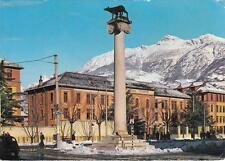 9444) AOSTA, CASERMA TESTAFOCHI DELLA BRIGATA ALPINA TAURINENSE. VIAGGIATA.