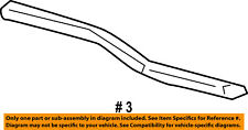FORD OEM Front Door Window Sweep-Belt Molding Weatherstrip Right 6L3Z1521452A