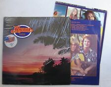 AMERICA (LP 33T) HARBOR  - INNER SLEEVE + POSTER - USA 1977