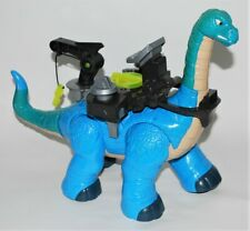 Fisher Price Imaginext Dinosaur Brontosaurus with Riding Saddle