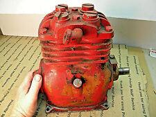 Vintage Refrigeration Air Compressor Motor Works Fine 1516 In Shaft Machinist