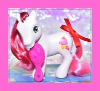 ❤️My Little Pony G3 2007 Best Friends Strawberry Surprise Wysteria Pose White❤️