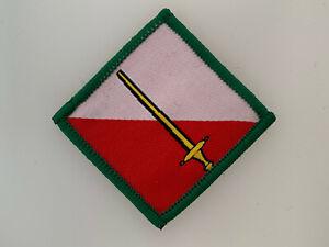 GENUINE British Army 42nd North West Brigade cloth TRF patch colour