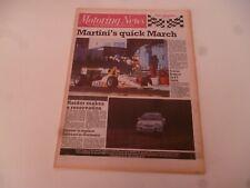 MOTORING NEWS 20 JULY 1988 McLAREN INTERNATIONAL, NEW ZEALAND RALLY, ENNA F3000