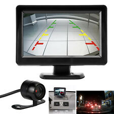 "4.3"" TFT LCD Car Rear View Mirror Monitor + Night Vision Backup Reverse Camera"