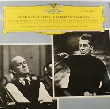 """TSCHAIKOWSKY - Sviatoslav Richter - Herbert von Karajan - LP 12""""  (Z1186)"""