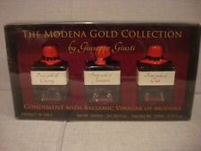 GIUSEPPE GIUSTI GOLD COLLECTION BALSAMIC VINEGAR OF MODENA 3 x 50ML