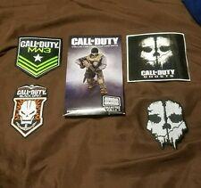 Call of Duty Patches and Collector Construction Set