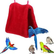 Soft Lamb Velvet Bird ​Hammock Thick Warm Parrot  Hanging Cage Nest Hut Tent Bed