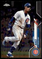 2020 Topps Chrome Base #198 Javier Baez - Chicago Cubs