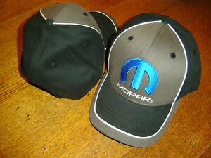 MOPAR Black / Gray CFS 2019 Adjustable Cap Hat New W/TAG In Stock