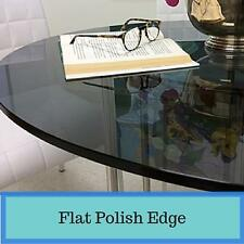 Grey Round Tempered Glass Table Top 1/2