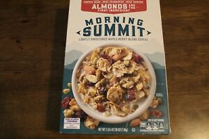 New- General Mills Morning Summit Cereal (Almonds), 38 oz- Ex. 09/2021