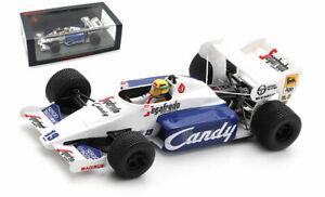 Spark S2778 Toleman TG184 #19 2nd Monaco GP 1984 - Ayrton Senna 1/43 Scale