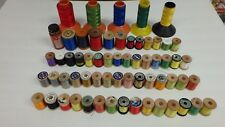 Vintage Gudebrod Rod Winding Thread Nice Size Lot Fly Tying Crafts 61 Spools