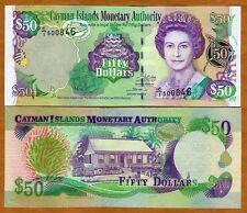 Cayman Islands, $50, 2003, P-32 (32a), C/1, UNC