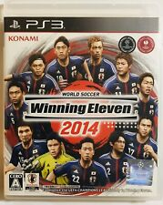 PS3 Play Station 3 Winning Eleven 2014 For Japanese Ver