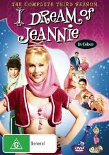 I Dream of Jeannie : Season 3 BRAND NEW SEALED REGION 4 (DVD, 2007, 4-Disc Set)