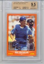 1988 Score Rookie & Traded Mike Macfarlane (Rookie Card) (#76T) BGS9.5 BGS