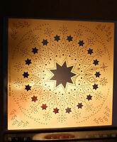 Erica/Stencil/Kerstranden/Star/Candle/Tree/emboss/Stitch/Embroider/4.050.352