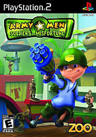 NEW Army Men: Soldiers of Misfortune (Sony PlayStation 2, 2008) PS2 SEALED