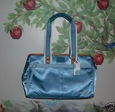 Authentic COACH Blue Hampton Handbag Tote Bag NWT
