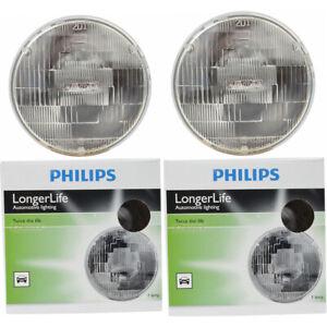 2 pc Philips H6024LLC1 Long Life Headlight Bulbs for Electrical Lighting oz