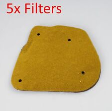 air filter 5x for Yamaha YW50 2T  BWS 50  Zuma 50 YW50 4VP BWS 100