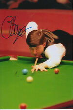 SNOOKER CHAMPION HAND SIGNED JOHN PARROTT 6X4 PHOTO 1.