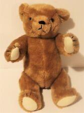 "Smithsonian Institution Vintage 1987 Teddy Bear Plush Jointed Stuffed Animal 13"""