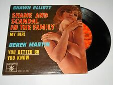 45 tours SHAWN ELLIOTT shame and scandal in the family ROULETTE VREX 65 036