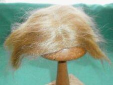 Mohairperücke blond kurz 16/18/doll wig mohair blond short