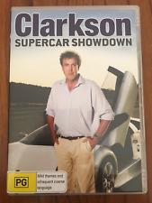 CLARKSON SUPERCAR SHOWDOWN  AS NEW REGION 4 DVD