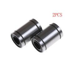 2pcs LM10UU 10mm Linear Motion Ball Bearing Bush Bushing 10x19x29mm CNC PartsSC