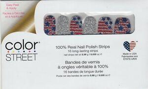 Color Street Nail Strips Glitz and Glory 100% Nail Polish - USA Made!