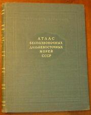 Ushakov/Ouchakov/Far Eastern seas invertebrates/invertébrès/mers extrème-orient