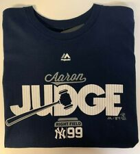 Aaron Judge #99 Right Field New York Yankees Majestic T-Shirt ADULT XXL ONLY
