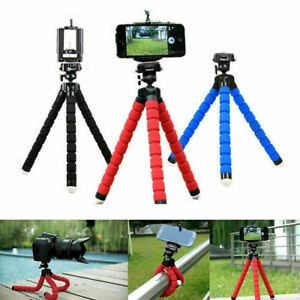Universal Octopus Stand Tripod Mount Holder For Samsung iPhone Cell Phone Camera