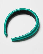 Oliver Bonas Women Kate Ribbon Wrapped Green Headband