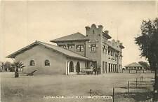 Arizona, AZ, Tucson, Southern Pacific Depot Early Albertype Co Postcard