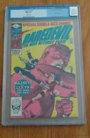 DAREDEVIL 181 - CGC 9.6 WHITE PAGES - DEATH OF ELEKTRA